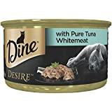 DINE Desire Pure Tuna Whitemeat Wet Cat Food 24 x 85g pack
