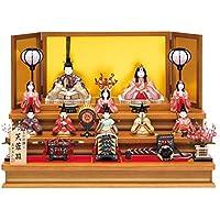 人形工房天祥 雛人形 真多呂作 木目込み人形 三段飾り 古今段飾り 芙蓉雛10人揃セット