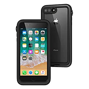 catalyst iPhone8 Plus / iPhone7 Plus ケース [ 完全防水 Qi 対応 IP68 耐衝撃 ] ブラック 【日本正規代理店品】 CT-WPIP175-BK
