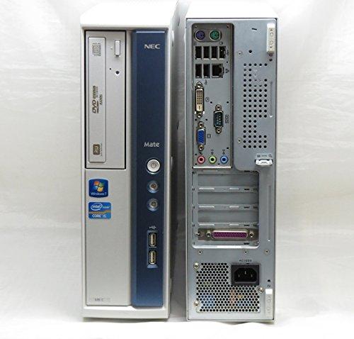 [Windows10] 中古デスクトップパソコン NEC Mate MK31M/B-D Core i5-2400 3.1GHz/500GB/4GB/DVDスーパーマルチ/Win10Pro 64bit