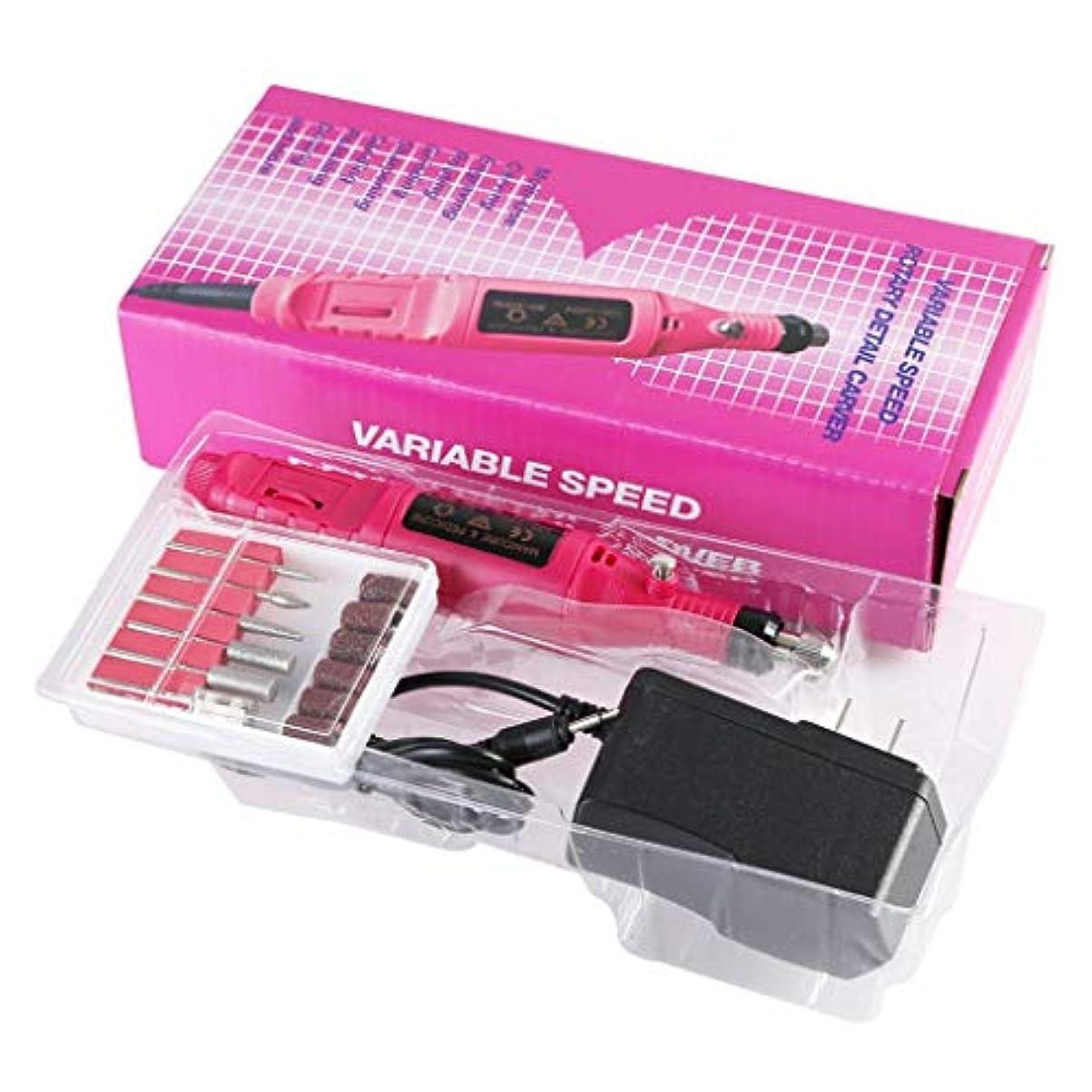 ブッシュ気づくなる貢献ゲルのアクリルの剥離のために使用される筆記試験の電気粉砕機の釘グラインダーの電圧 110v-220v