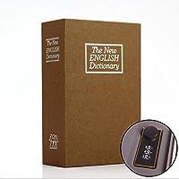 HuaQingPiJu-JP 模擬英語辞書ピギーバンクパスワードロックセーフ(イエロー)