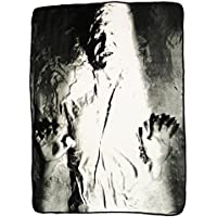 [ノース ウエスト]Northwest Star Wars Han Solo in Carbonite Fleece Throw Blanket 46 x 60 B01HN2BUYM [並行輸入品]