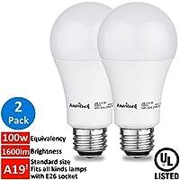 a19LED電球100W相当 2 Pack A19100D01603-27