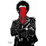 Punk A2サイズ キャンバスポスター #td77a STAR DESIGN A2 (420 x 594mm)