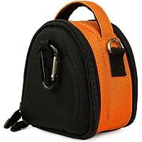 オレンジVG Laurel Editionスタイリッシュなナイロンカメラ携帯ケースポーチfor Ricohデジタルカメラモデルcx6/ PX / cx5/ cx4/ cx3/ cx2/ cx1