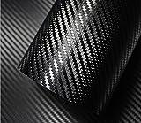 Amazon.co.jpIlMondoMall 3D カーボンシート リアル カーボン調 カーボンステッカー 汎用 エア抜き溝有りタイプ 10×10cm 品質確認用サイズ