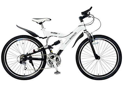 My Pallas(マイパラス) マウンテンバイク MTB M-960 type2 26インチ 18段変速 Wサスペンション アルミフレーム ホワイト