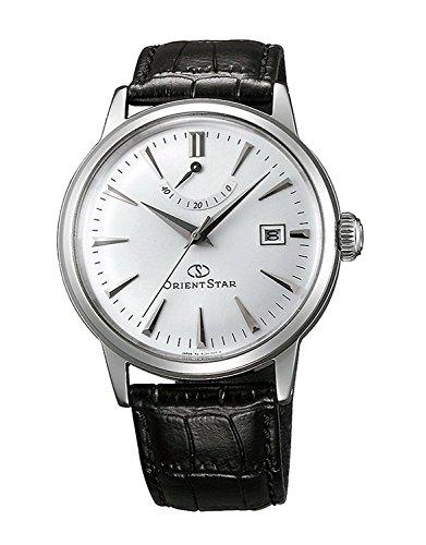 ORIENT オリエント SAF02004W0 オリエントスター 自動巻き(手巻付き) ホワイト ダイアル ブラック レザー 男性用 メンズ 腕時計 [並行輸入品]