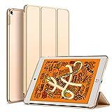 KENKE iPad mini 5 2019 ケース 軽量 薄型 耐衝撃 放熱 三つ折りスタンド オートスリープ機能 傷防止 クリア 背面 保護ケース スマートカバー iPad mini5(第五世代) 対応