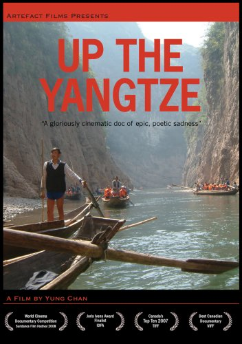 up in the yangtze film critic Mainland helmer-scribe yang chao's film cruises along with a ship's captain who has sex with the same woman at various ports, which is meant to symbolize the river's nurturing yet mutable relationship with humanity (chauvinistically envisioned here as male.