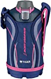 タイガー 水筒 800ml 直飲み ステンレス スポーツ ボトル ポーチ付き サハラ ネイビー MME-C080-A Tiger