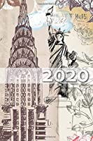 2020: Your personal organizer 2020 with cool pages of life personal organizer 2020 weekly and monthly calendar for 2020 in handy pocket size 6x9 with great new york design