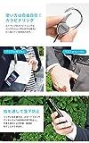 Hand Linker ハンドリンカー カラビナリング ストラップ 【01.ブラック】【単品】 スマートフォン スマホ 落下防止 d1115-crt-BK 画像