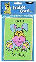 Crunchkins Crunch Edible Card My Luv Bunny [並行輸入品]