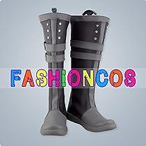 ★サイズ選択可★女性22.5CM UC417 拡散性ミリオンアーサー 鹵獲型モルゴース コスプレ靴 ブーツ