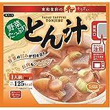 東和食彩 野菜たっぷり豚汁205g 10食セット (電子レンジ対応パウチ)
