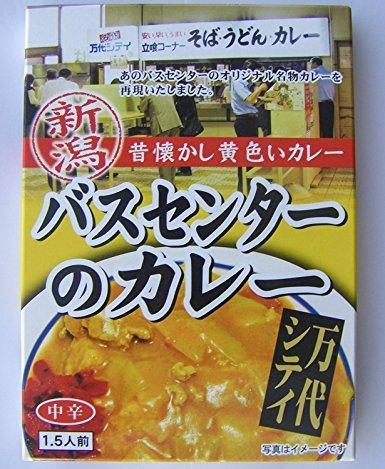 新潟 昔懐かし黄色いカレー バスセンターのカレー 中辛 220g