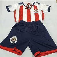 新しい。Chivas de Guadalajara Short and Jersey 2 pcセットYouth M (8 – 10歳)