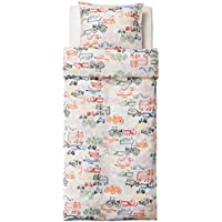 [Ljudlig]Ljudlig Ikea Transportation Kids Childrens Twin 2pc Duvet Quilt Cover Set Trucks Cars Planes More 802.643.51 [並行輸入品]