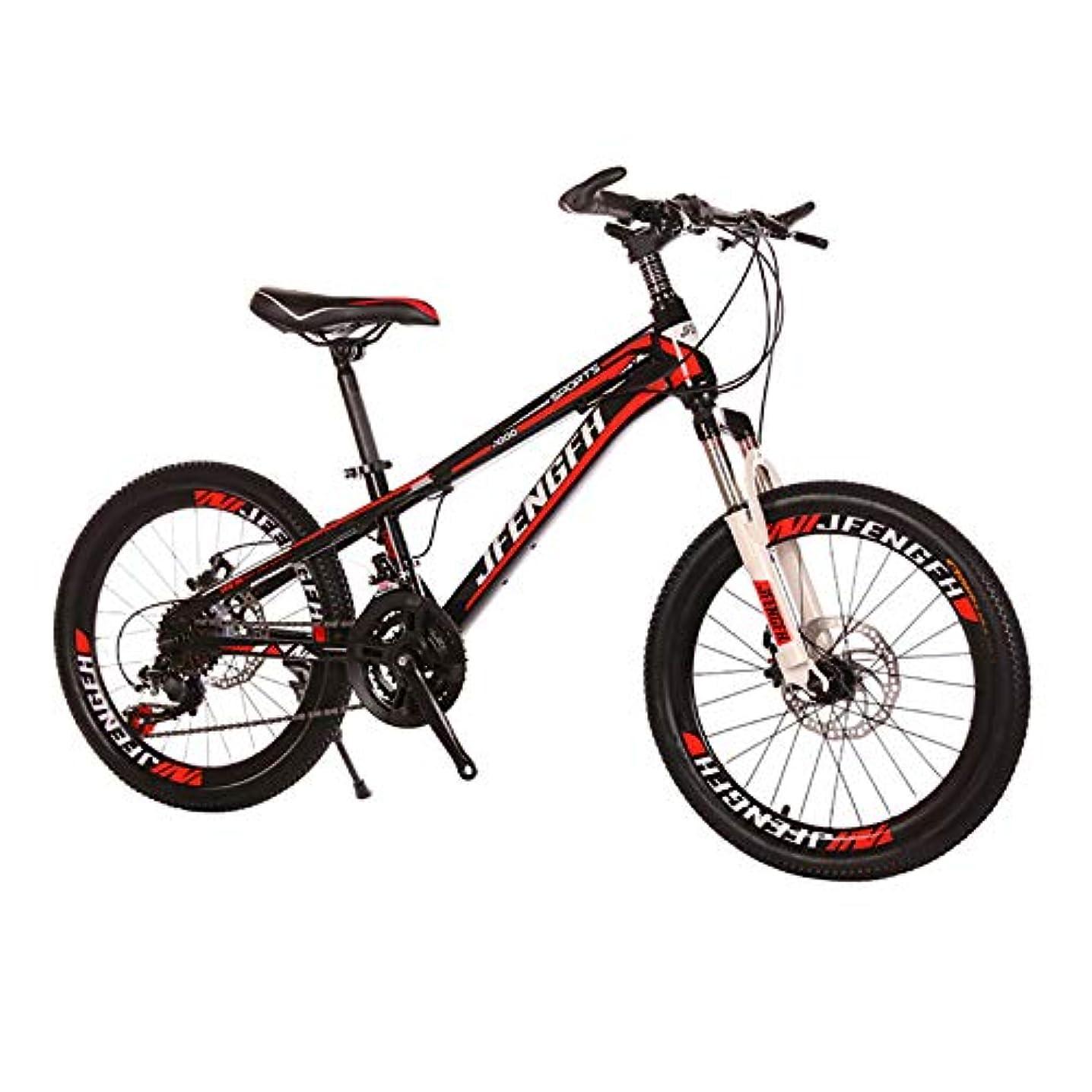 骨折スコットランド人サポートYIRENXIAO 男の子と女の子のための20インチディスクブレーキの衝撃吸収21速度可変速度自転車