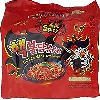 ブルダック炒め麺 激辛2倍 ヘクブルダック 140g×10袋 韓国で人気の激辛袋麺