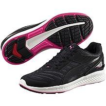 PUMA Women's Ignite V2 WN's, Black- White-Pink Gold, Running Shoes
