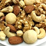 【江戸屋】4種類のミックスナッツ(くるみ入り) うす塩 2kg (1kg×2袋)《新鮮・高品質・自慢の美味さ》