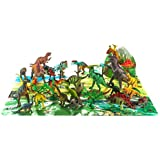 [ファンセントラル]Fun Central Animal Planet's Big Tub of Dinosaurs Set 40ct [並行輸入品]