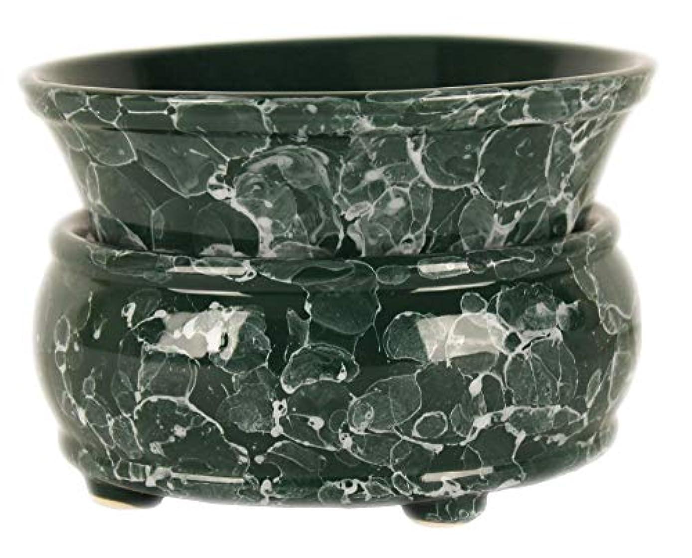 枠オペレーターモデレータ元Candle Warmer – 2イン1 Air Freshener – グリーンElectricワックスキューブMelter – Aroma Diffuser – Odor Eliminating Burner