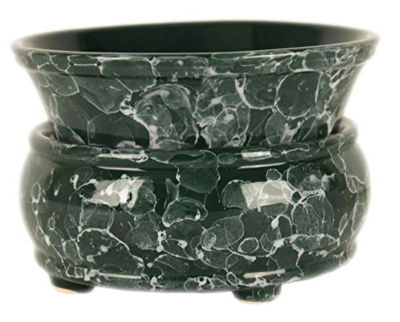メキシコスライスマインド元Candle Warmer – 2イン1 Air Freshener – グリーンElectricワックスキューブMelter – Aroma Diffuser – Odor Eliminating Burner