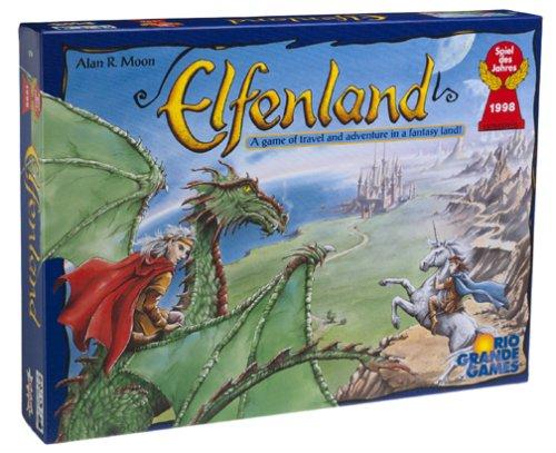 エルフェンランド (Elfenland) ボードゲーム