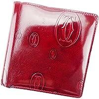 [カルティエ] Cartier 二つ折り 財布 レディース メンズ 可 ハッピーバースデー 中古 T6019