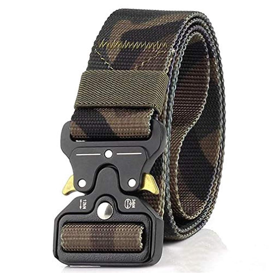 有能な適度に酸素3.8cmの戦術的なベルトの男性の軍隊ファンの多機能のナイロン訓練ベルト-Rustle666