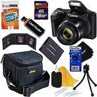 Canon PowerShot sx420is 20MPデジタルカメラwith 42xズーム、HDビデオ& Wi - Fi内蔵(国際バージョン) + NB - 11lバッテリー+ 8pc 16GBアクセサリーキットW/HeroFiber Gentleクリーニングクロス