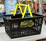 ムーンアイズ(MOONEYES) ショッピングバスケット ブラック サイズL_SB-MG671BK-MON