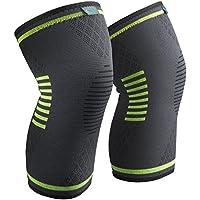Sable スポーツ 薄型 膝サポーター (2個セット) 膝固定 関節 靭帯 サポート ランニング バスケ 登山アウトドアスポーツ 怪我防止 通気性 伸縮性 3サイズ