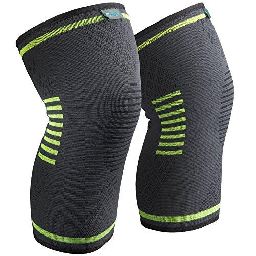 (2個セット) スポーツ 薄型 膝サポーター 膝固定 関節 靭帯 サポート ランニング バスケ 登山アウトドア...