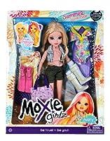 "MGA Entertainment Moxie Girlz "" Summer Swim Magic ""シリーズ10インチ人形セット–Avery with "" Color Changing Hair」、水着、トートバッグ、1ペアのフリッパーおよび1ペアのブーツ"