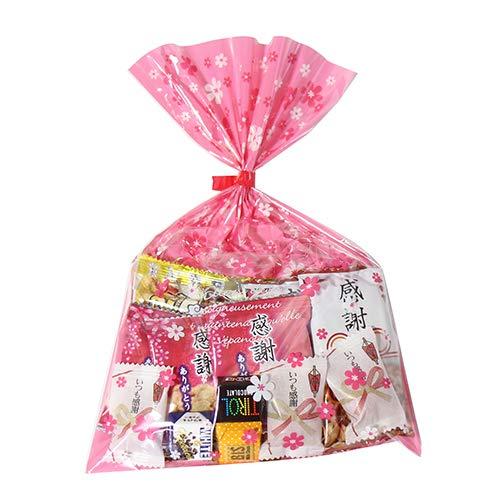 花柄袋 340円 お菓子 チョコレート 詰め合わせ(Fセット) 駄菓子 袋詰め おかしのマーチ