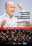 ブラームス : 交響曲全集 + ドキュメンタリー 「ザ・ブラームス・コード」 (Johannes Brahms : The Complete Symphonies + The Brahms Code : A Music Documentary by Christian Berger / The Deutsche Kammerphilharmonie Bremen | Paavo Jarvi) [3DVD] [Import] [日本語帯・解説付]