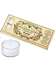 カメヤマキャンドル(kameyama candle) 亀山ティーライトクリア10個?日本製 キャンドル