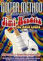 Guitar Method: Jimi Hendrix - 40 Acid Licks [DVD] [Import]