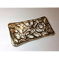 IPhone4s/4 オールメタル ナンバーデザイン 金属ケース フランクミュラータイプ ゴールド
