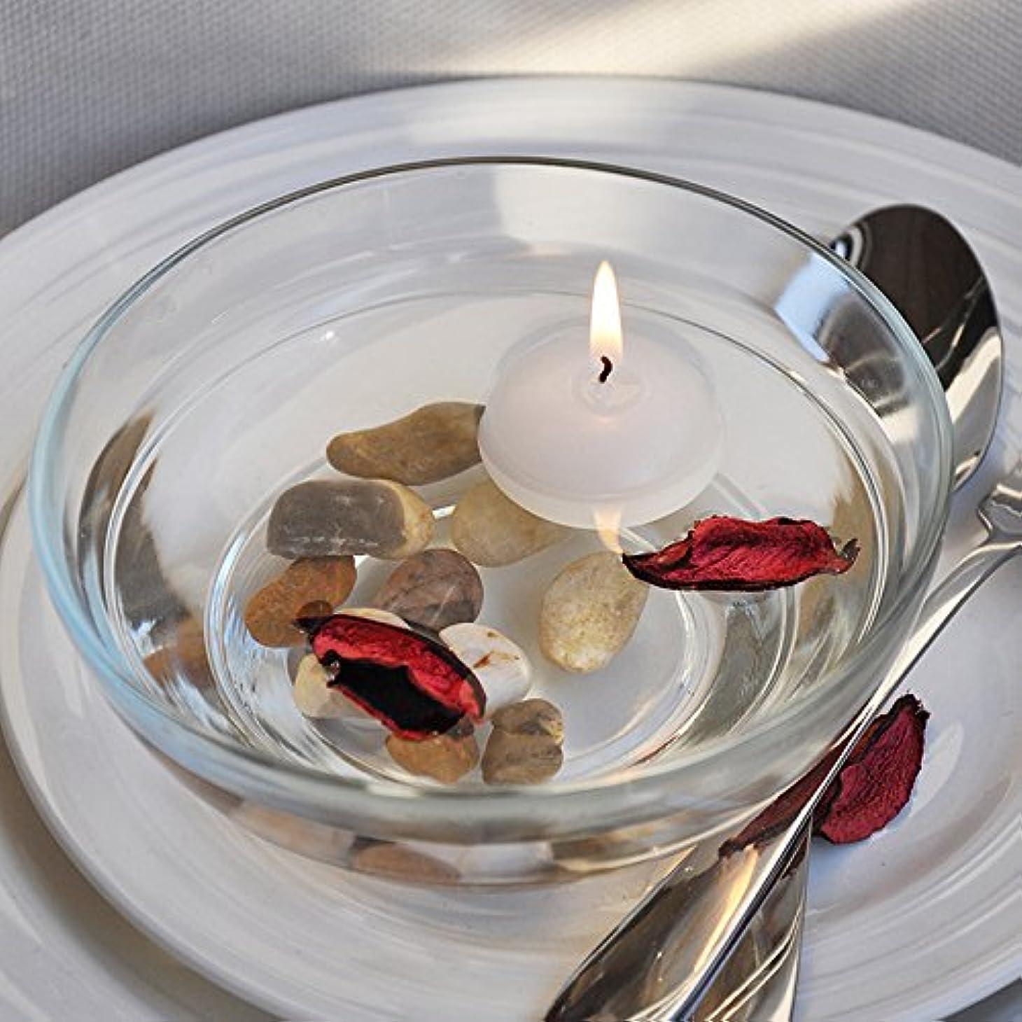 天皇耕すうなずく熱い販売10ピース/ロット小さな無香料フローティングキャンドル用ウェディングパーティーホームデコレーションキャンドル-Ivory