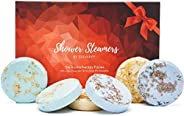 Cleverfy Aromatherapy Shower Steamers - Variety Set Of 6x Shower Bombs With Essential Oils For Relaxation. Sho