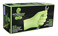 Python Grip Nitrile Gloves (X-Large, Case of 900) [並行輸入品]
