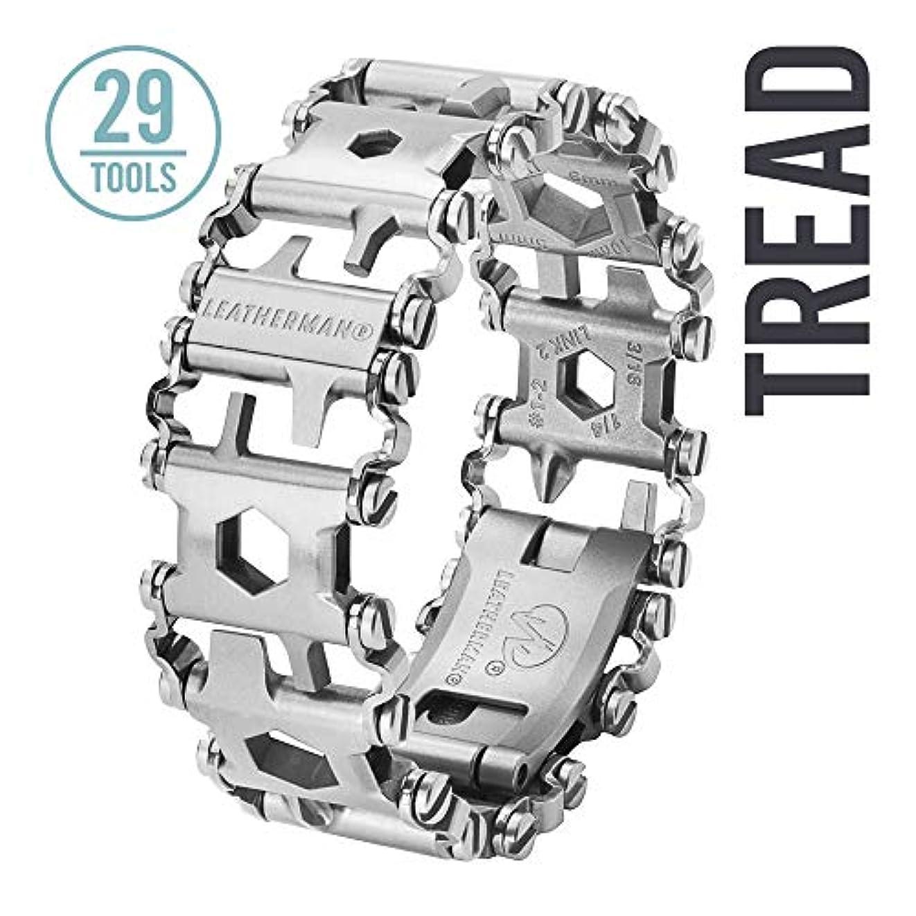 寸法政治家のロッジLEATHERMAN(レザーマン) TREAD トレッド in Box STAINLESS STEEL 831998 [並行輸入品]
