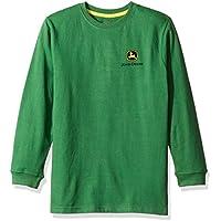 John Deere Big Boys' Long Sleeve Tee, Green