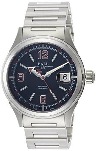 [ボールウォッチ]BALLWATCH 腕時計 ストークマン レーサー ブラック×レッド文字盤 ステンレススチール 自動巻 100m防水 NM2088C-S2J-BKRD メンズ 【並行輸入品】